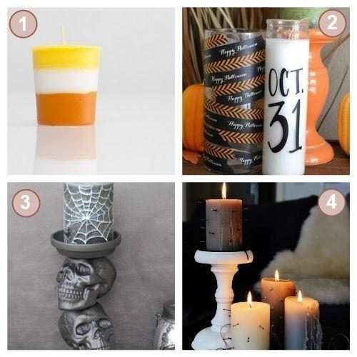 Idées Bougies DIY Halloween