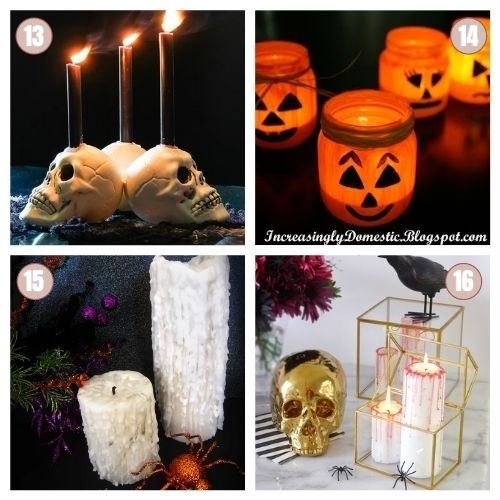 Idées de décorations pour Halloween