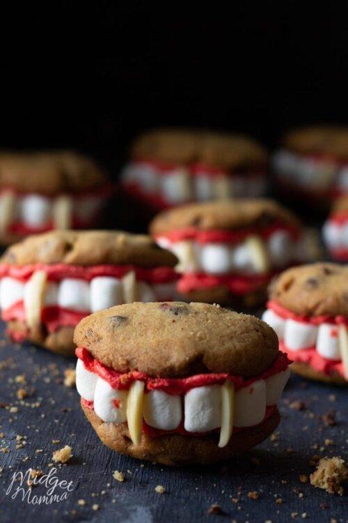Biscuits Vampire pour Halloween