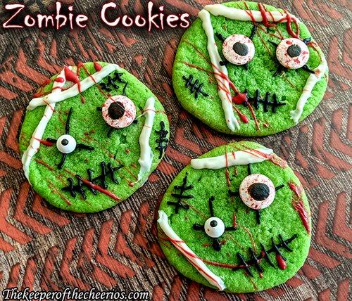Biscuits Zombie Halloween